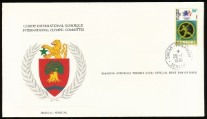 Arms (crest) of International Olympic Committee (stamps)