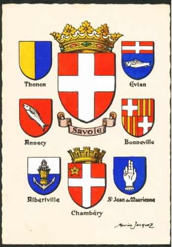 Arms of Maurice Jacquez Postcards
