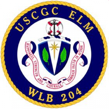Coat of arms (crest) of the USCGC Elm (WLB-204)