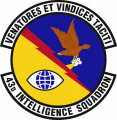 43rd Intelligence Squadron, US Air Force.png