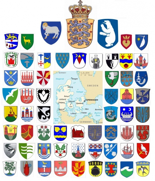 Municipal heraldry of Denmark