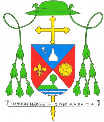 Arms (crest) of Diocese of Yarmouth