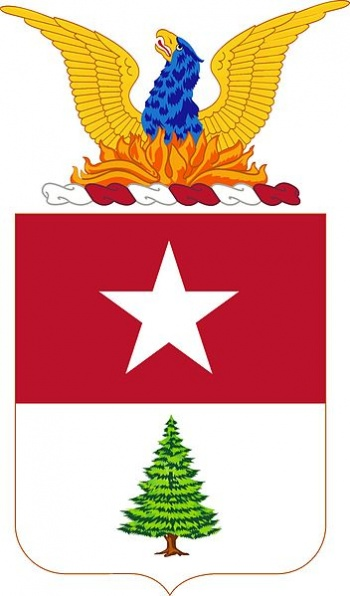 Coat of arms (crest) of the 8th Coast Artillery Regiment, US Army