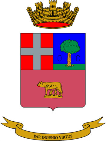 Coat of arms (crest) of the Engineer School, Italian Army