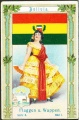 Arms, Flags and Folk Costume trade card Natrogat Bolivien