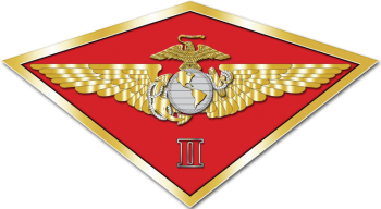 Coat of arms (crest) of the 2nd Marine Aircraft Wing, USMC