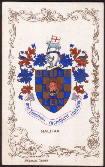 Arms (crest) of Halifax (Yorkshire)