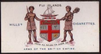 National Arms Of Fiji Arms Crest Of National Arms Of Fiji