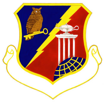Coat of arms (crest) of the 3480th Technical Training Group, US Air Force