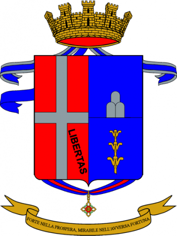 Coat of arms (crest) of the 23rd Infantry Regiment Como, Italian Army