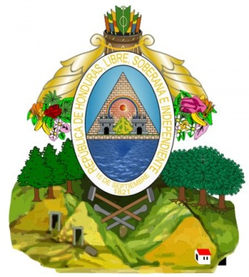 Arms (crest) of National Arms of Honduras