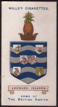Arms of Leeward Islands