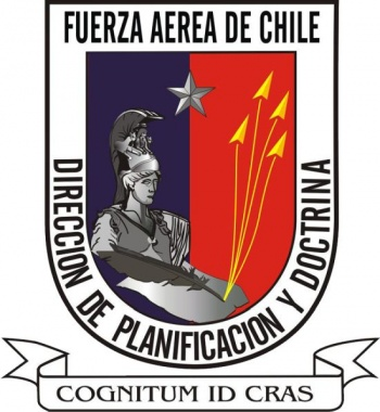 Coat of arms (crest) of the Planning and Doctrine Office of the Air Force of Chile