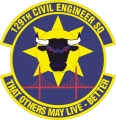 129th Civil Engineer Squadron, US Air Force.png