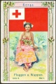 Arms, Flags and Folk Costume trade card Natrogat Tonga