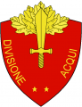 Division Acqui, Italian Army.png