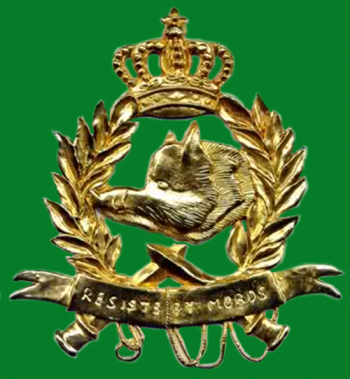 Coat of arms (crest) of the Battalion of Chasseurs Ardennais, Belgian Army