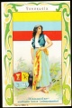 Arms, Flags and Folk Costume trade card Diamantine Venezuela