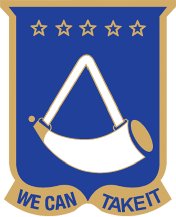 Arms of 150th Armor Regiment (formerly 150th Infantry), West Virginia Army National Guard