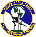 11th Forces Support Squadron, US Air Force.png