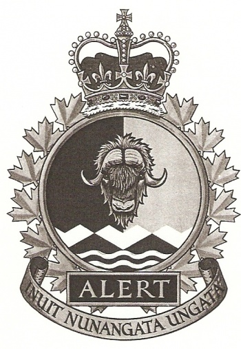 Coat of arms (crest) of the Canadian Forces Station Alert, Canada