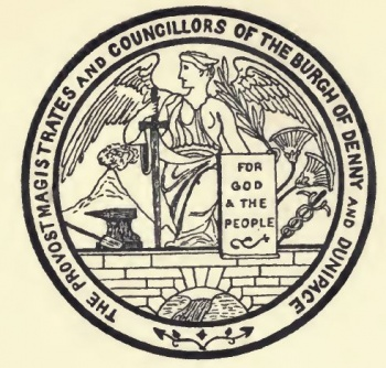 seal of Denny and Dunipace