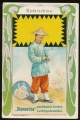 Arms, Flags and Folk Costume trade card Diamantine Kolombien