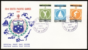 Arms of Samoa (stamps)