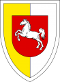 Armoured Grenadier Brigade 1 (later Armoured Training Brigade 9), German Army.png