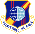 23rd Air Force, US Air Force.png
