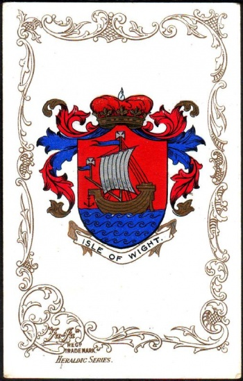 Arms (crest) of Isle of Wight