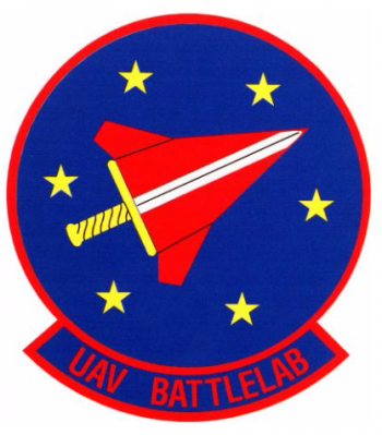 Coat of arms (crest) of the Unmanned Aerial Vehicle Battlelab, US Air Force