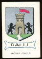 arms of the Dalli family