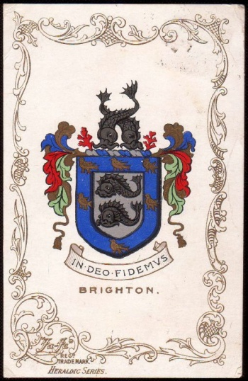 Arms (crest) of Brighton (England)