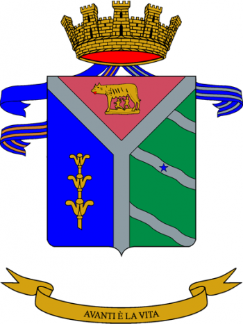 Coat of arms (crest) of the 8th Engineer Regiment, Italian Army