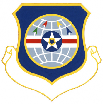 Coat of arms (crest) of the 3420th Technical Training Group, US Air Force