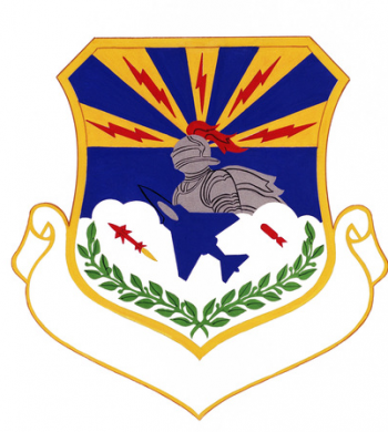Coat of arms (crest) of the 3200th Support Wing, US Air Force