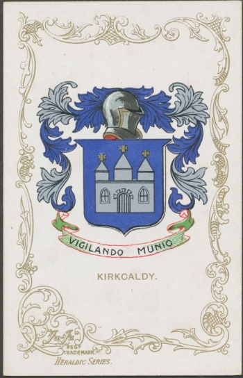 Arms (crest) of Kirkcaldy
