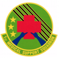 1st Medical Support Squadron, US Air Force.png