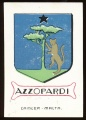 arms of the Azzopardi family