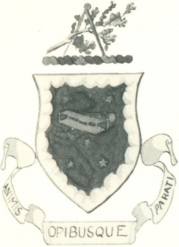 Coat of arms (crest) of the Engineer School, USAAF