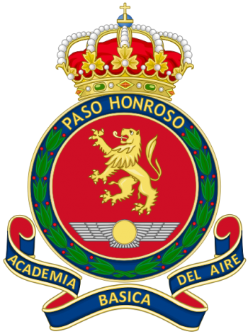 Coat of arms (crest) of the Non-Commissioned Officer Academy, Spanish Air Force