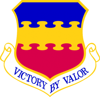 Coat of arms (crest) of the 20th Fighter Wing, US Air Force