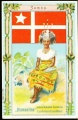 Arms, Flags and Folk Costume trade card Diamantine Samoa