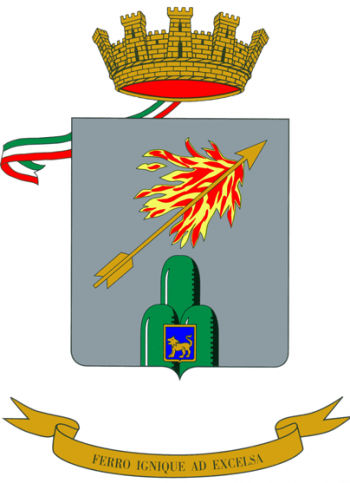 Arms of 6th Mountain Artillery Regiment, Italian Army