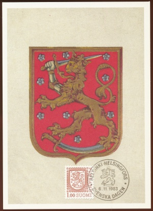 Arms (crest) of Finland (stamps)