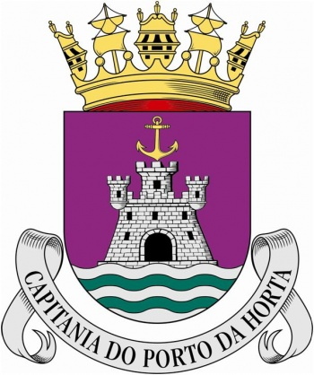 Coat of arms (crest) of the Harbour Captain of Horta, Portuguese Navy
