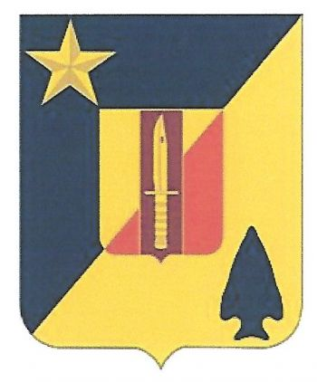 Arms of 2nd Combined Arms Battalion, 5th Brigade Combat Team, 1st Armored Division, US Army