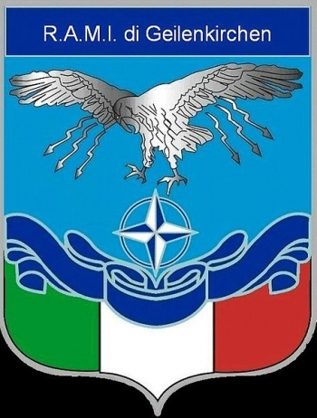 Coat of arms (crest) of the Italian Military Aviation Representative Geilenkirchen, Italian Air Force