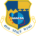 45th Space Wing, US Air Force.png